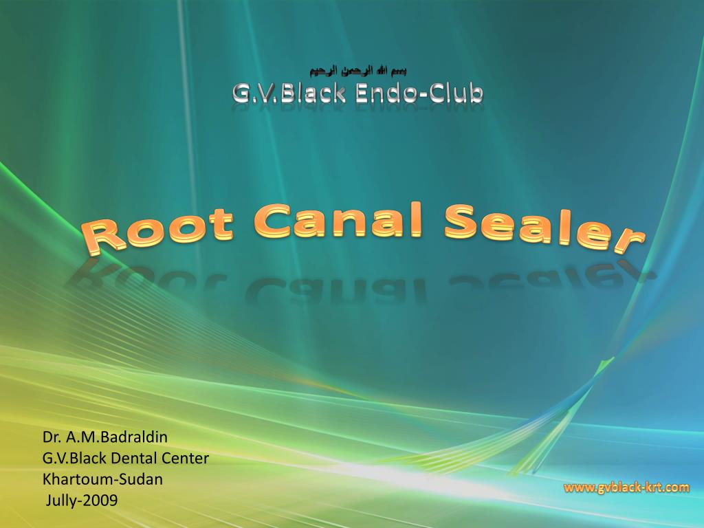 PPT - Root Canal Sealer PowerPoint Presentation - ID:514690