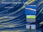 different generator types