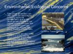 environmental ecological concerns