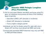 atlantic hms pelagic longline pll permitting
