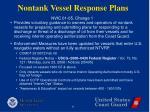 nontank vessel response plans8