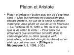 platon et aristote