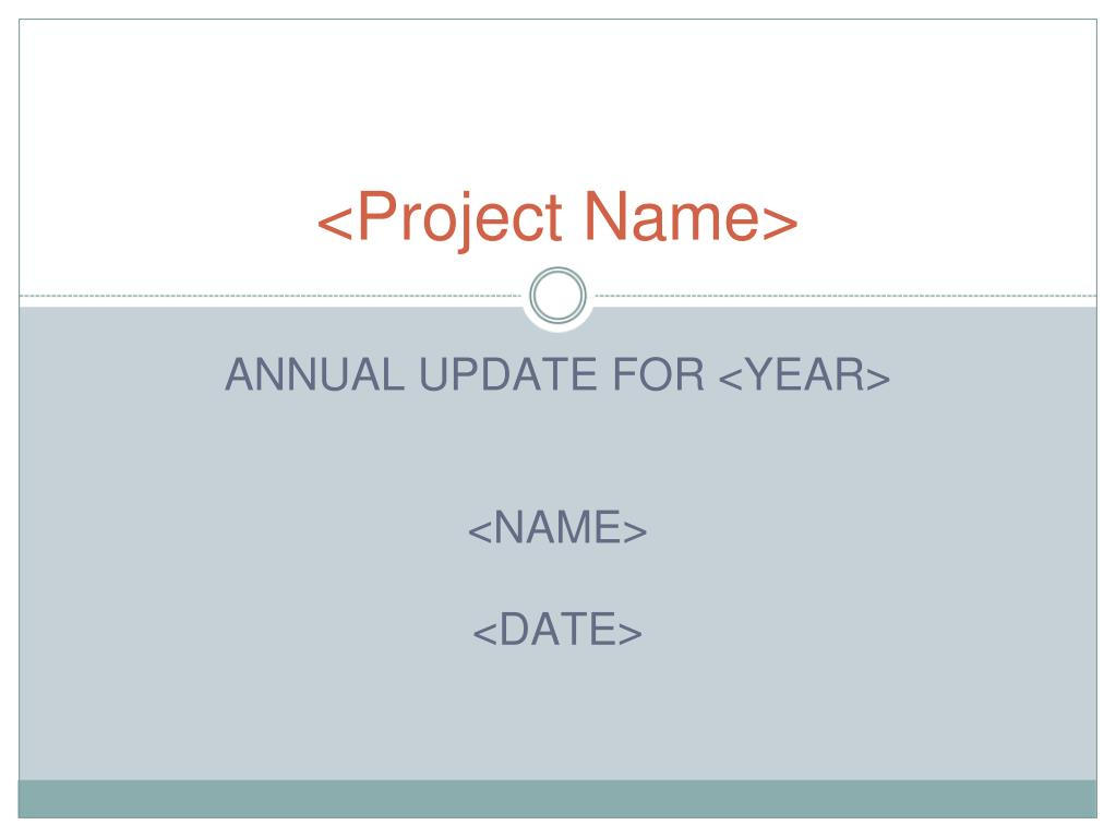 project name l.