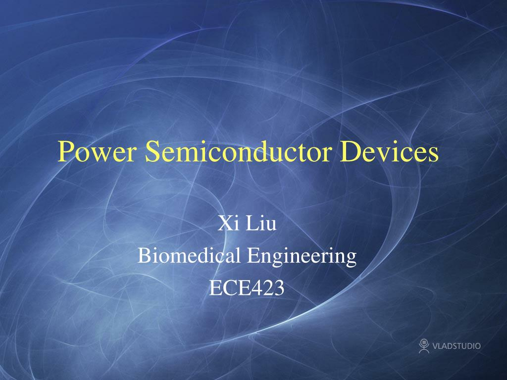 power semiconductor devices l.