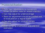 poststratification