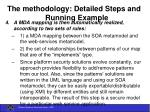 the methodology detailed steps and running example39
