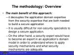 the methodology overview20