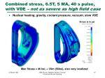 combined stress 6 5t 5 ma 40 s pulse with vde not as severe as high field case