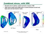 combined stress with vde