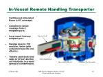 in vessel remote handling transporter