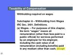 taxability of compensation23