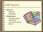 lmi sources