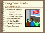 using labor market information
