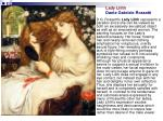 lady lilith dante gabriele rossetti