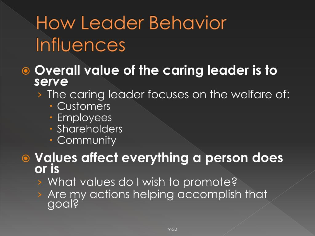How Leader Behavior Influences