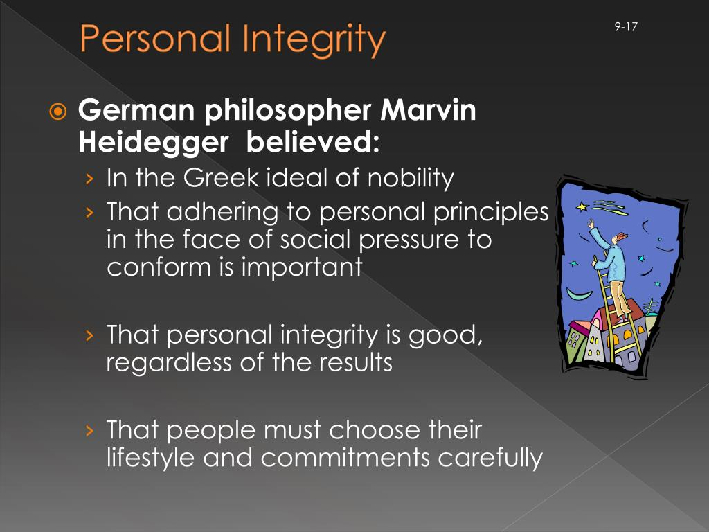 Personal Integrity