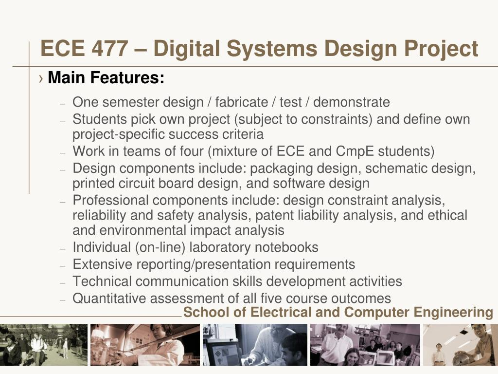 ECE 477 – Digital Systems Design Project