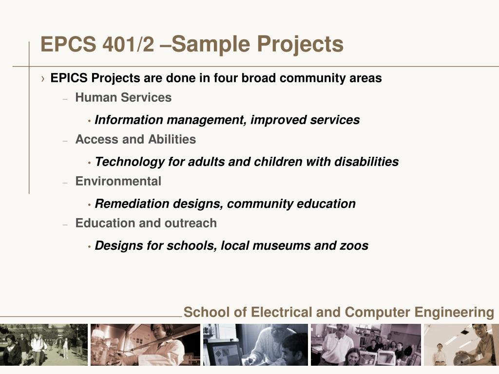 EPCS 401/2 –