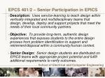 epcs 401 2 senior participation in epics