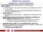 unfccc key elements adaptation an evolving focus