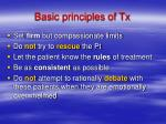 basic principles of tx12