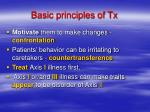 basic principles of tx13