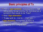 basic principles of tx14