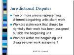 jurisdictional disputes