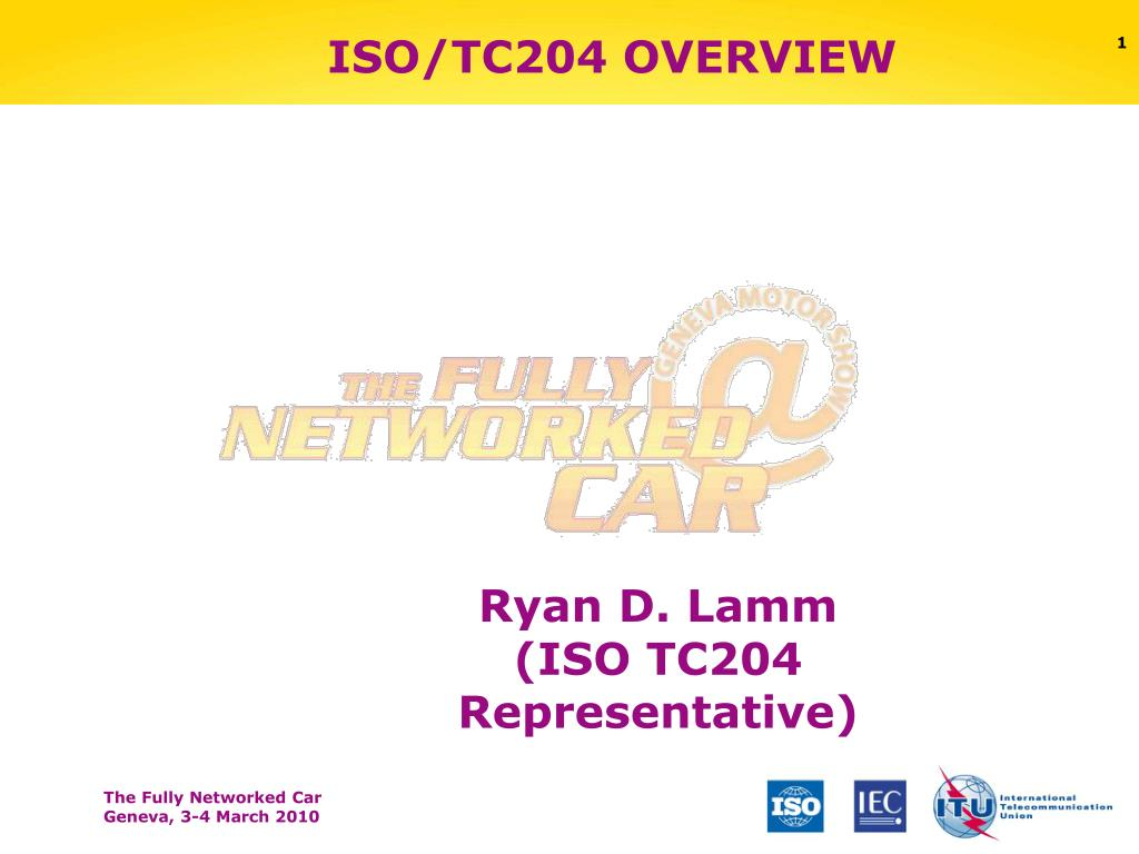 iso tc204 overview l.