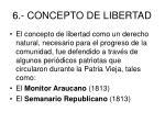 6 concepto de libertad