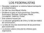los federalistas