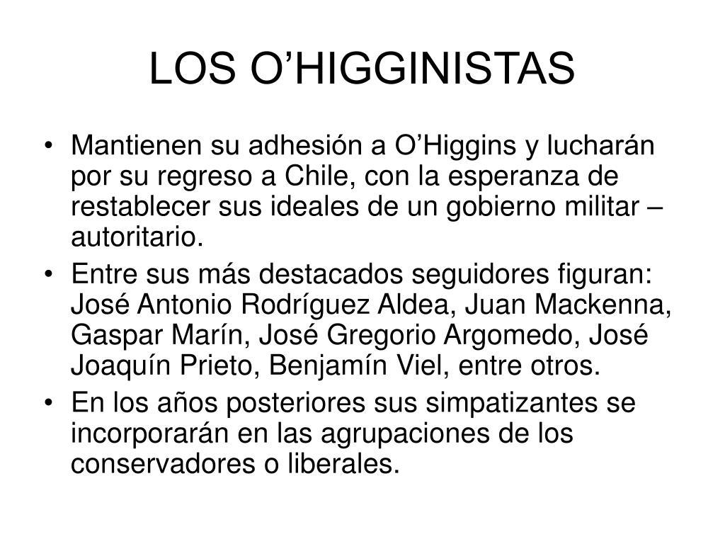 LOS O'HIGGINISTAS