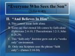 everyone who sees the son john 6 406