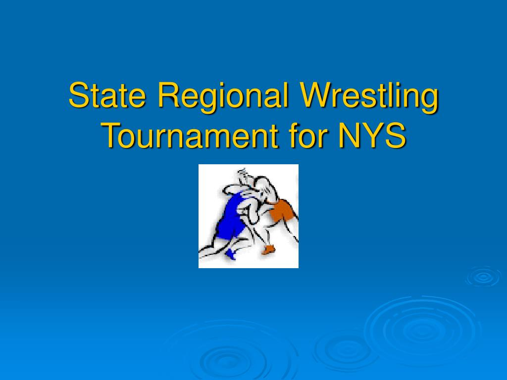 state regional wrestling tournament for nys l.