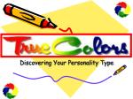 discovering your personality type34