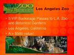 los angeles zoo