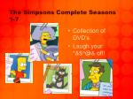 the simpsons complete seasons 1 7