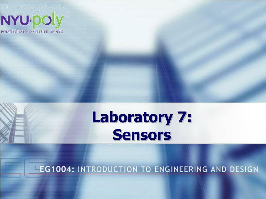 laboratory 7 sensors l.