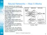 neural networks how it works