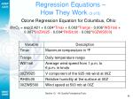 regression equations how they work 3 of 5