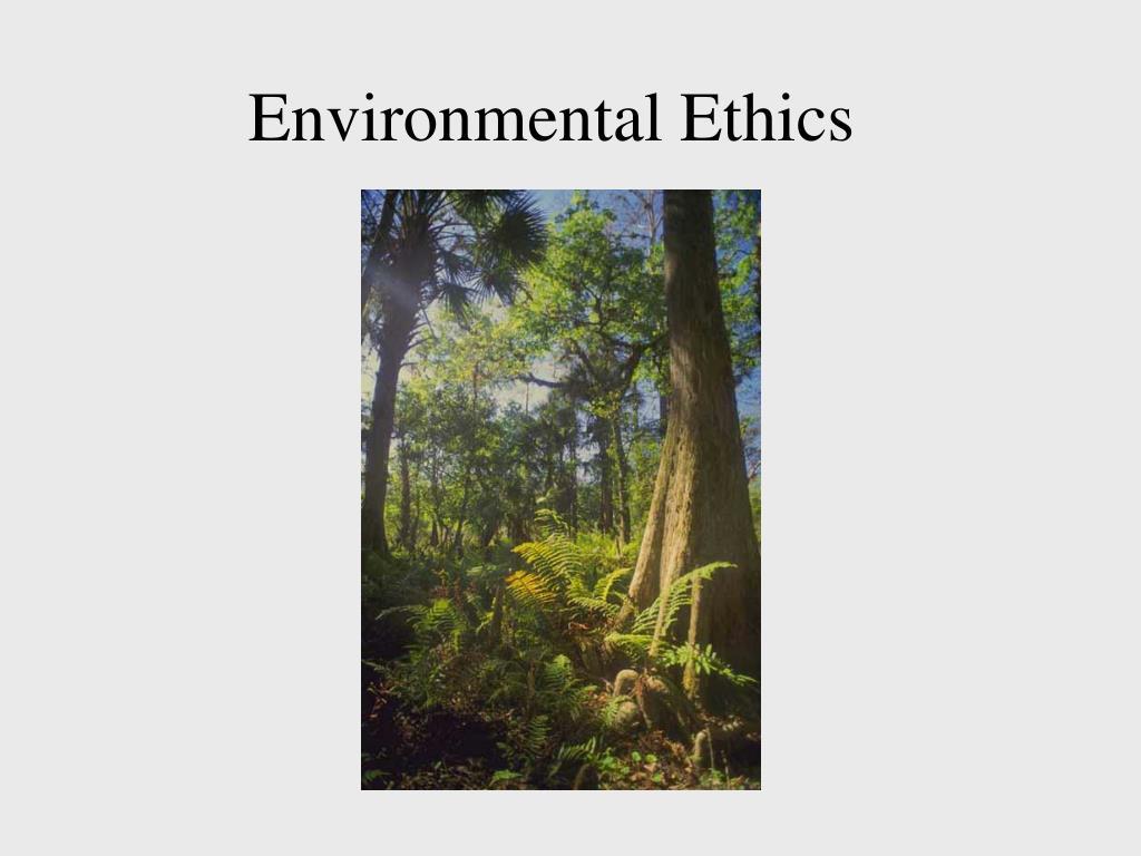 environmental ethics l.