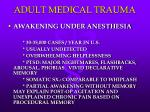 adult medical trauma38