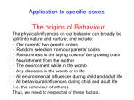 application to specific issues54