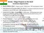 kerala mega projects on the anvil investment opportunities21