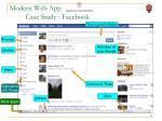 modern web app case study facebook