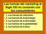 las fuerzas del marketing al siglo xxi en conexi n con los consumidores