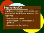 segmentaci n