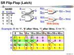 sr flip flop latch16