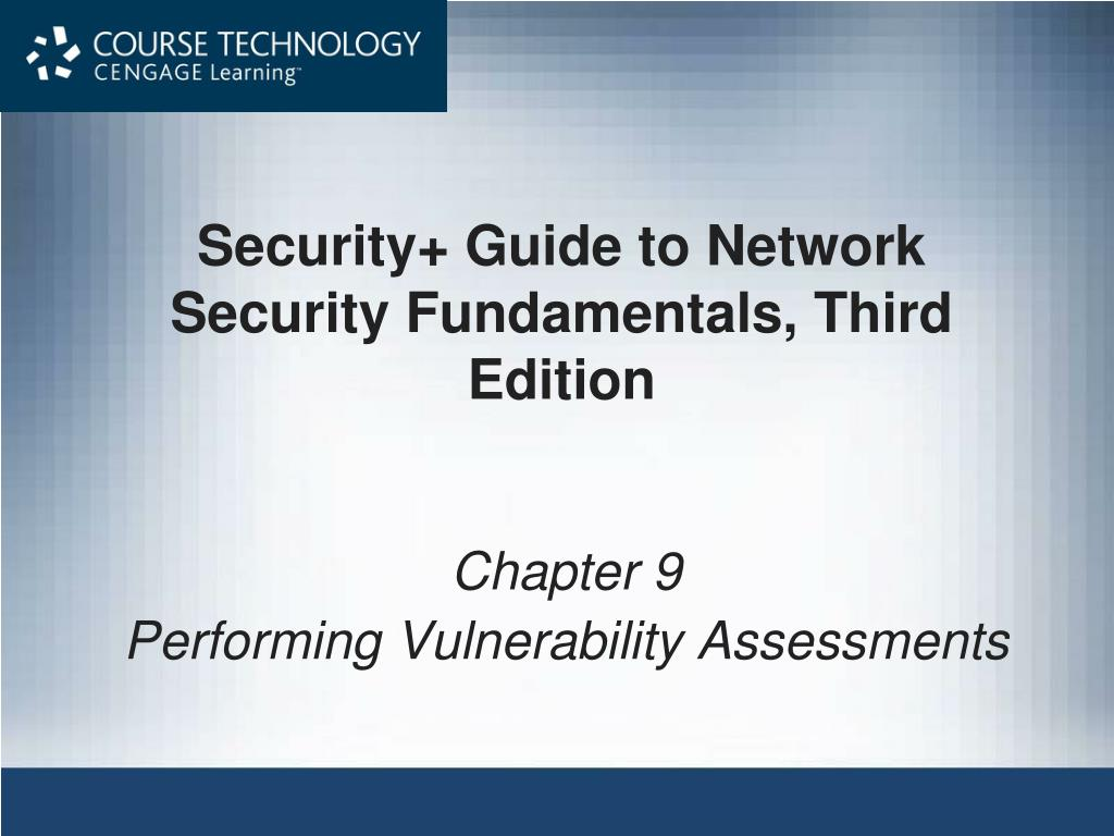 security guide to network security fundamentals third edition l.