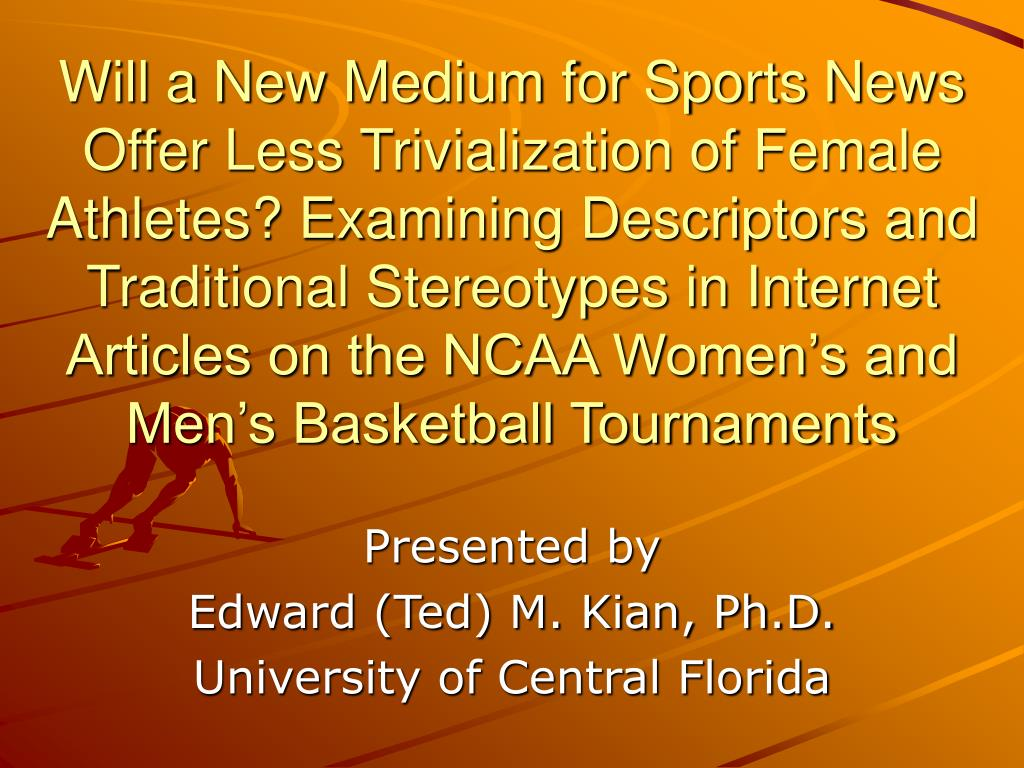 presented by edward ted m kian ph d university of central florida l.